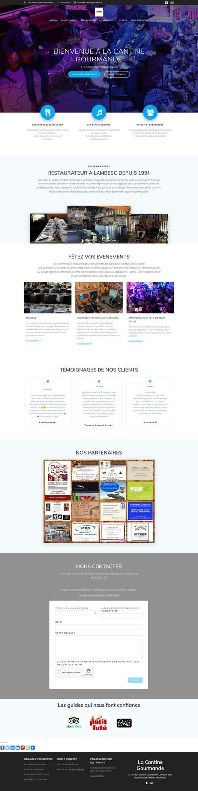 Déroulé site web, SPE Communication, Agence Web Aix-en-Provence