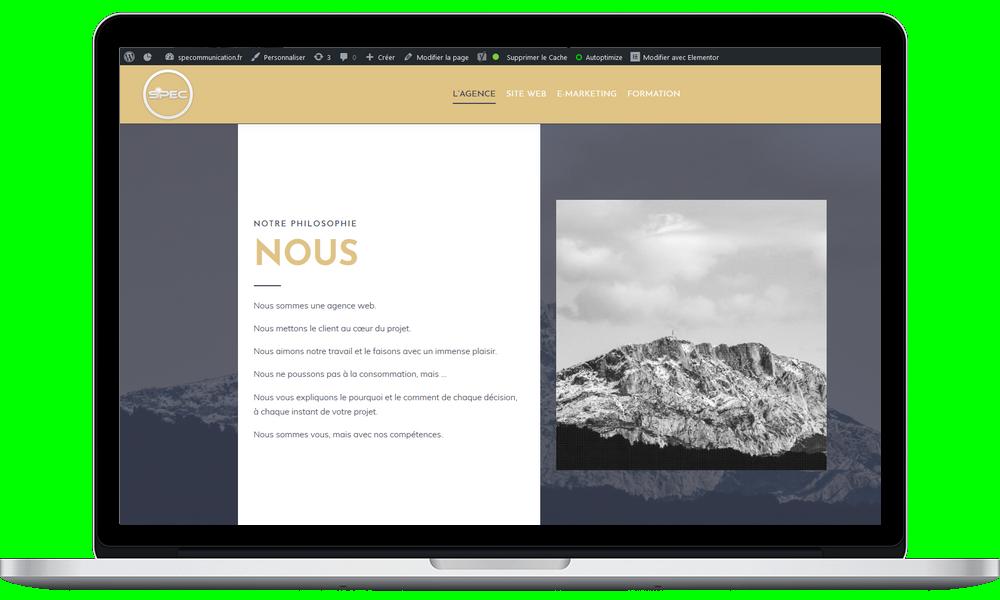 création de site internet aix en provence, site web, SPE Communication, agence web Aix-en-Provence,
